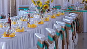 Banquet hall for 150 persons