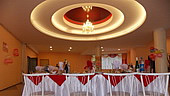 Banquet hall for 100 persons